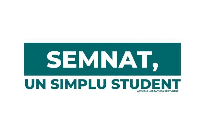 Semnat, un simplu student